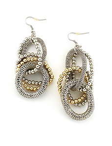 Gold Upscale Earrings by Marlene's Jewels