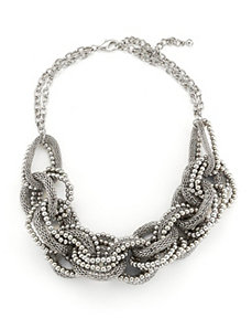 Silver Urban Links Necklace by Marlene's Jewels