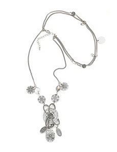 Silver Hollywood Necklace by Marlene's Jewels
