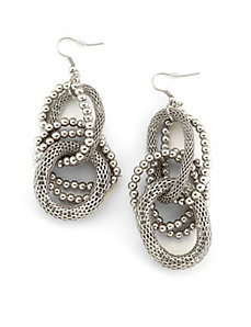 Silver Upscale Earrings by Marlene's Jewels