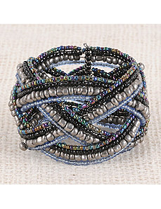Winter Is Coming Braid Cuff by Marlene's Jewels