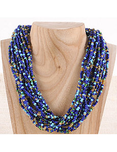 Bold Bead Necklace by Marlene's Jewels