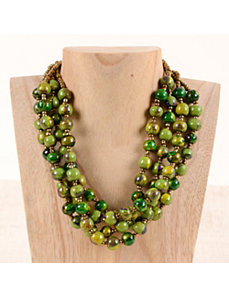 Cleo Multi Strand Necklace by Marlene's Jewels