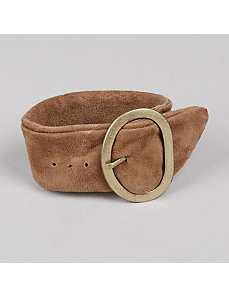Suede Buckle Bracelet by Marlene's Jewels