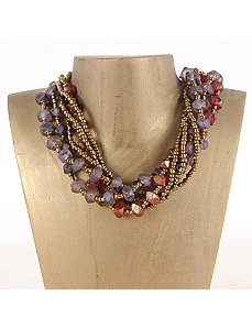 Wine Seaside Maui Necklace by Marlene's Jewels