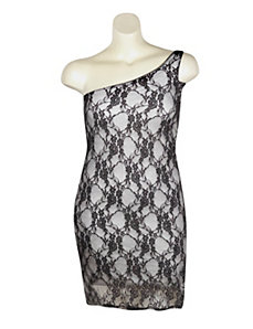 Grey London Lace Dress by Dori