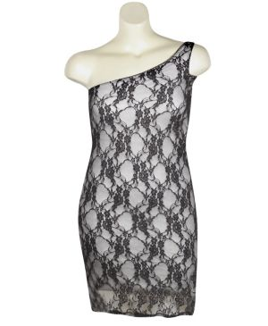 Grey London Lace Dress
