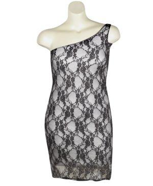Grey London Lace Dress