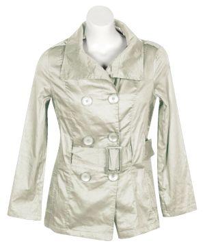 Khaki Big Button Jacket