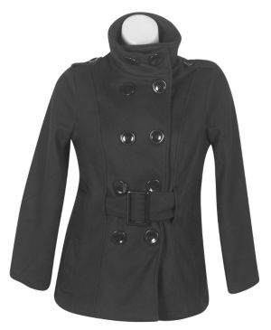 Black Frozen Fun Coat