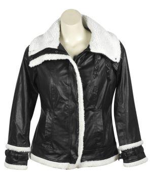 Black Sherpa Coat