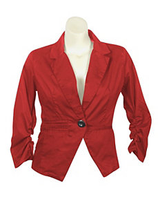 Red Bring It On Blazer by Last Kiss