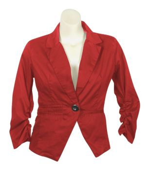 Red Bring It On Blazer