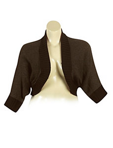 Brown Dolman Sleeve Cardigan by Derek Heart