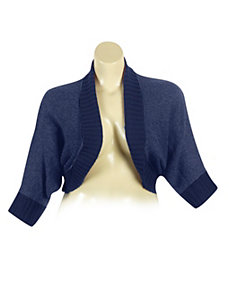 Navy Dolman Sleeve Cardigan by Derek Heart