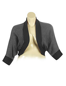 Gray Dolman Sleeve Cardigan by Derek Heart