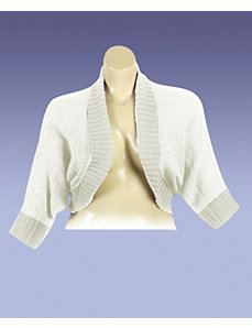 Cream Dolman Sleeve Cardigan by Derek Heart