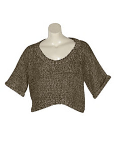 Khaki On The Rise Top by Derek Heart