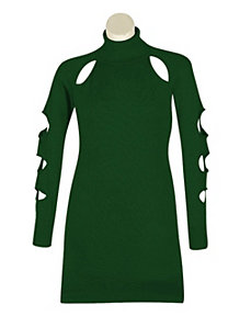 Green Cut It Out Dress by Derek Heart