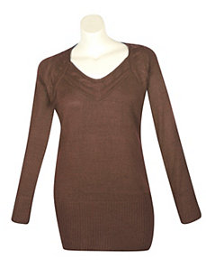 Brown Seattle Sweater by Derek Heart