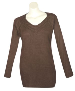 Brown Seattle Sweater