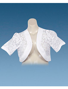 White Lace Bolero by Derek Heart