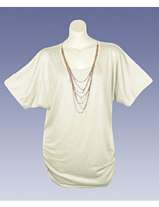 Ivory Island Top by French Laundry