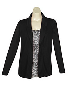 Black City Blazer by French Laundry