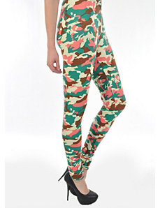 Colorful Camouflage Leggings by 2NE1