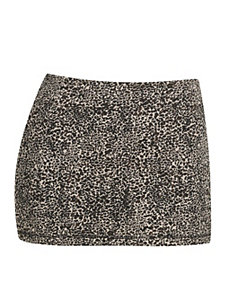 Animal Print Skirt by Miss Majesty