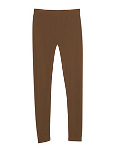 Brown Seamless Leggings by Icon Apparel
