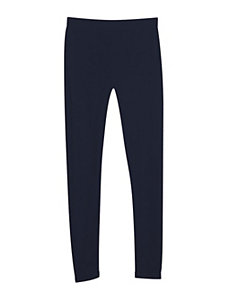 Navy Seamless Leggings by Icon Apparel