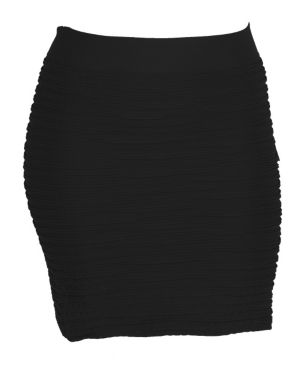 Black All Night Skirt