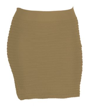 Khaki All Night Skirt