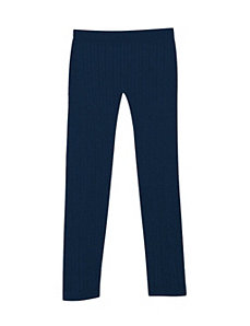 Navy Cable Legging by Icon Apparel