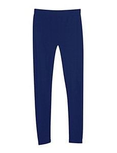 Navy French Terry Legging by Icon Apparel