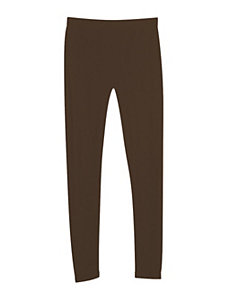 Brown French Terry Legging by Icon Apparel