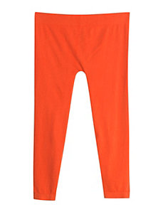 Orange Cotton Capri by Icon Apparel