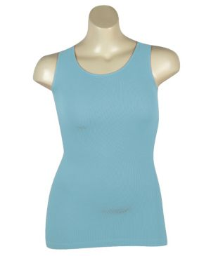 Turquoise Ribbed Tank