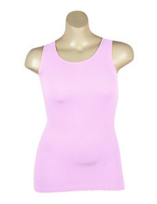 Lavender Ribbed Tank by Icon Apparel
