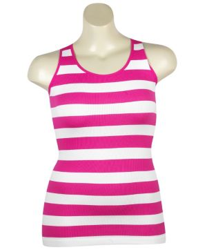 Stripe Ribbed Tank