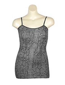 Snake Print Tank by Icon Apparel