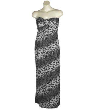 Grey Coastal Maxi Dress
