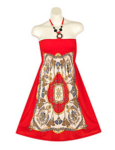 Red Road Dress by Meetu Magic