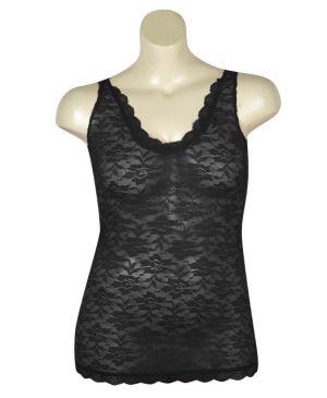 Black Love Lace Tank