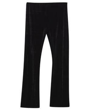 Black Velvet Pant