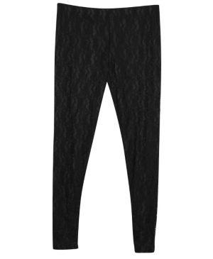 Black Lace Pant