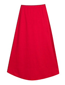 Red Maxi Skirt by Forever Young