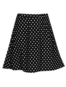 Black Do The Dot Skirt by Forever Young