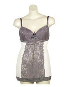 Grey Chemise Lace by Native Intimates